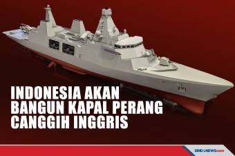 Indonesia akan Bangun Kapal Perang Canggih Inggris