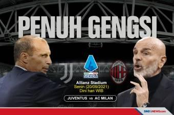 Preview Juventus vs AC Milan: Laga Besar Penuh Gengsi