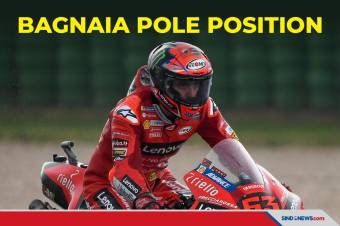 Kualifikasi MotoGP San Marino 2021: Bagnaia Pole Position Lagi