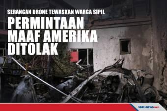 Serangan Drone Tewaskan Warga Sipil, Permintaan Maaf AS Ditolak