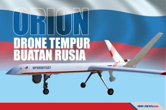 Orion, Drone Tempur dengan Teknologi Canggih Buatan Rusia