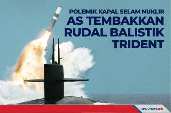 Polemik Kapal Selam Nuklir, AS Tembakkan Rudal balistik Trident