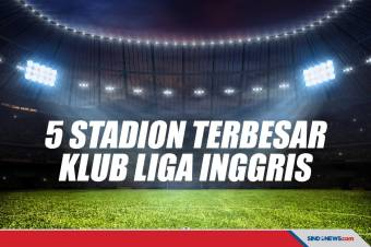5 Stadion Terbesar Klub Liga Inggris, Nomor 1 Milik Setan Merah