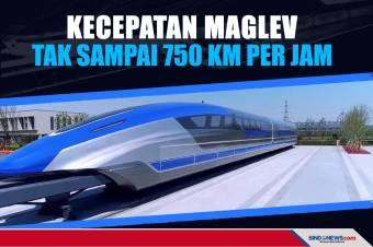 Ternyata Kecepatan Maglev Tak Sampai 750 Km Per Jam