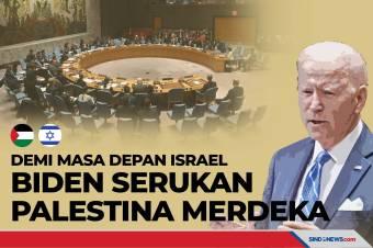Demi Masa Depan Israel, Biden Serukan Palestina Merdeka