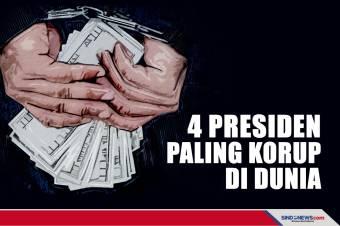 Empat Pemimpin Negara yang Paling Korupsi di Dunia