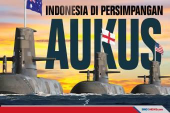 Dekat Laut China Selatan, Indonesia di Persimpangan AUKUS