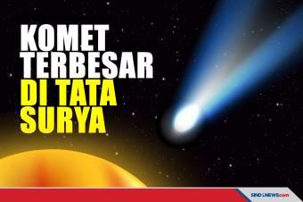 Astronom Temukan Komet Raksasa dan Terbesar di Tata Surya