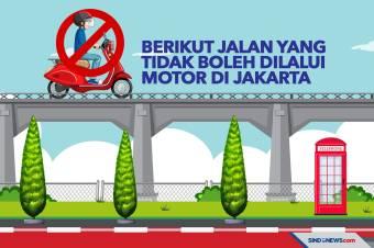 Berikut Jalan yang Tidak Boleh Dilalui Motor di Jakarta