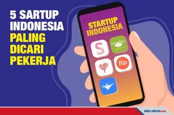 Ini 5 Startup Indonesia Paling Banyak Dicari Pekerja di LinkedIn