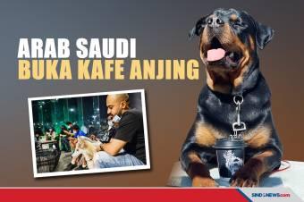 Pemerintah Arab Saudi Perbolehkan Buka Kafe Anjing