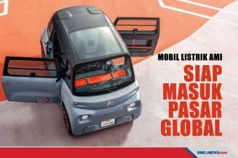 Citroen Berencana Jual Mobil Listrik Mini Ami Secara Global