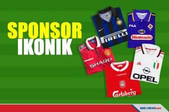 Kumpulan Jersey-Jersey yang Memiliki Sponsor Ikonik