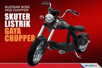 Keluar Pakem, Jigsaw Produksi Skuter Listrik dengan Gaya Chopper