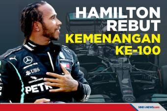 Hasil GP F1 Rusia 2021: Lewis Hamilton Rebut Kemenangan ke-100