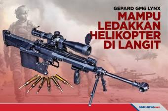 Gepard GM6 Lynx, Senapan yang Bisa Ledakkan Helikopter di Langit