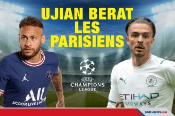 Prediksi Liga Champions PSG vs Man City: Ujian Les Parisiens