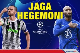 Prediksi Liga Champions Juventus vs Chelsea: Jaga Hegemoni
