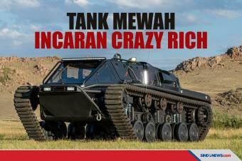 Ripsaw EV3-F4, Tank Mewah Serba Bisa Incaran Crazy Rich