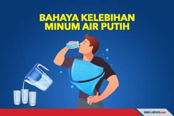Bahaya Kelebihan Minum Air Putih yang Perlu Diketahui