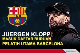 Juergen Klopp Masuk daftar Buruan Pelatih Utama Barcelona