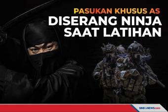 Pasukan Khusus AS, Diserang Ninja saat Sedang Latihan