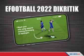 Grafik Wajah Aneh, Game eFootball 2022 Dapat Kritikan