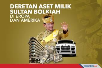 Berikut Aset yang Dimiliki Sultan Bolkiah di Eropa dan Amerika