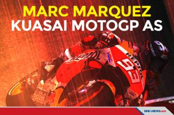 Hasil MotoGP AS 2021: Marc Marquez Rajai Sirkuit COTA