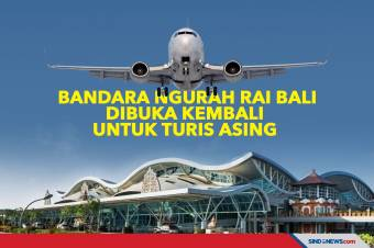 Bandara Ngurah Rai Bali Dibuka untuk Turis Asing 14 Oktober