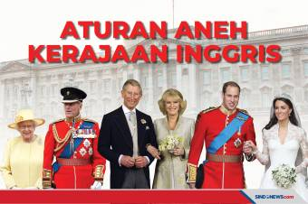 Berikut Sederet Aturan Aneh Keluarga Kerajaan Inggris