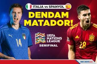 Semifinal UEFA Nations League: Italia vs Spanyol, Dendam Matador!