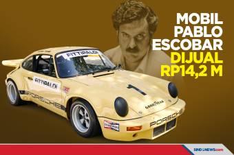 Mobil Bekas Gembong Narkoba Pablo Escobar Dijual Rp14,2 Miliar