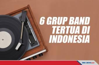 Grup Band Tertua di Indonesia, Ada yang Bassis-nya Kidal Semua