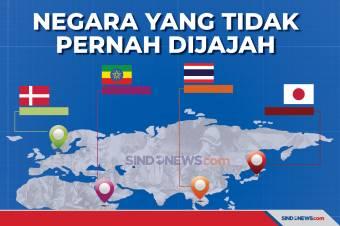 Negara yang Tidak Pernah Dijajah Negara Lain, Dua Ada di Asia