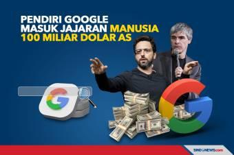 Pendiri Google Masuk Jajaran Manusia 100 Miliar Dolar AS