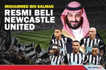 Mohammed bin Salman Resmi Beli Newcastle United Rp5,9 Triliun