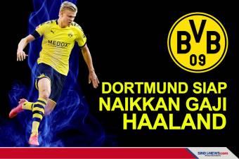 Dortmund Siap Naikkan Gaji Haaland Rp4,8 Miliar per Pekan