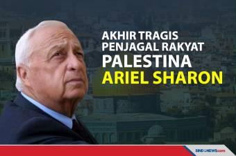Penjagal Rakyat Palestina Ariel Sharon Berakhir Sangat Tragis