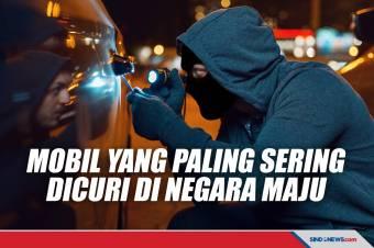 Mobil-mobil yang Paling Sering Dicuri di Negara-negara Maju