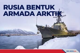 Pengamanan Rute Laut Utara, Rusia Bentuk Armada Arktik