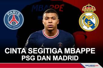 Rumitnya Cinta Segitiga Antara Mbappe, PSG, dan Madrid