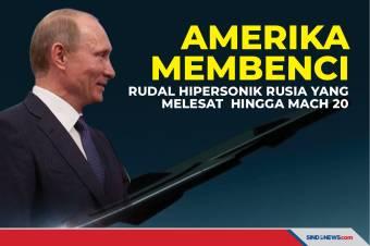 Amerika Membenci, Rudal Hipersonik Rusia Melesat hingga Mach 20