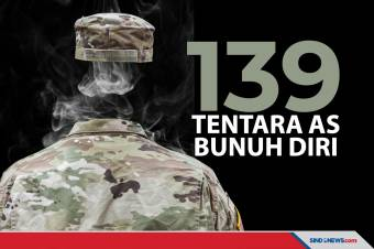 Laporan Pentagon Terbaru, 139 Tentara AS Tewas Bunuh Diri