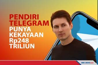 Pendiri Telegram Punya Kekayaan Rp248 Triliun di Usia 37 Tahun
