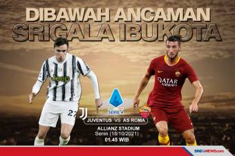 Preview Juventus vs AS Roma: Waspada Ancaman Srigala Ibukota
