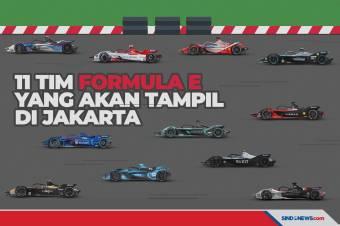 Ini 11 Mobil Balap Listrik Formula E yang Bakal Datang ke Jakarta