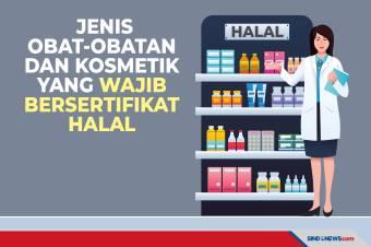 Jenis Produk Obat-obatan dan Kosmetik yang Wajib Bersertifikat Halal