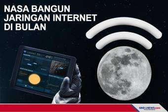 NASA Berupaya Membangun Jaringan Internet di Bulan