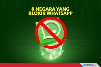 Inilah 8 Negara di Dunia yang Blokir Aplikasi WhatsApp